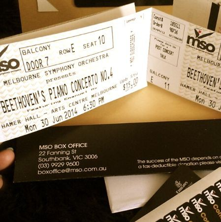 tickets to beethoven concert