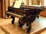 Franz Liszt's grand piano