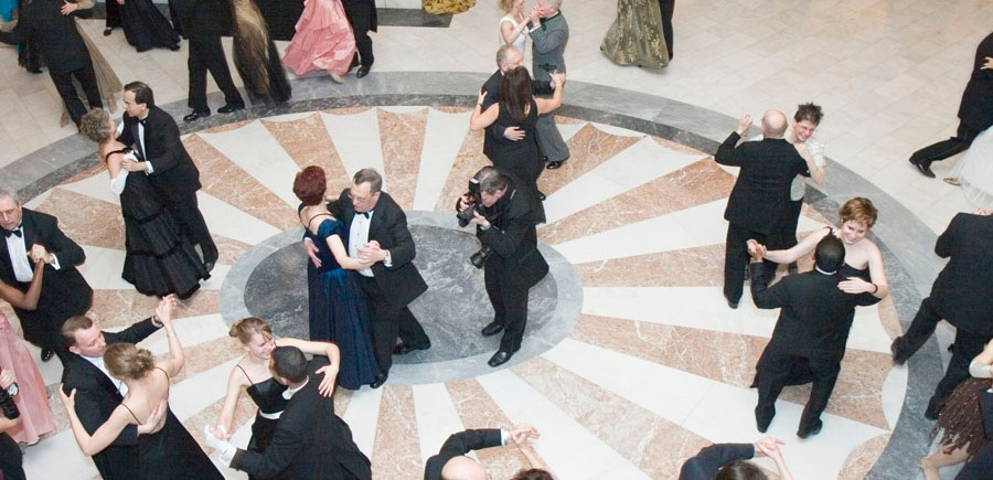 People waltzing