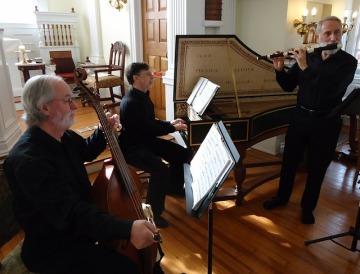 Trio with piano, cello and flute
