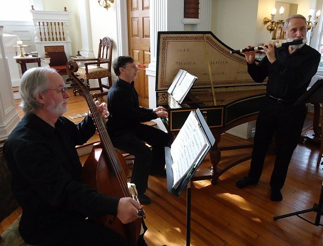 Trio with piano, cello and flute