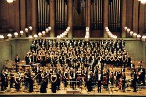 choir with orchestra