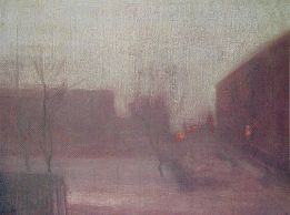 Whistler's Nocturne Trafalgar Sq