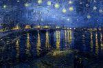 starry night over the rhone van gogh