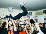 house party crowd surfing