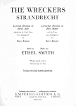 Front page of opera program showing Ethel Smyth and Henry Brewster